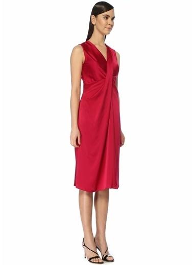 Diane Von Furstenberg Elbise Fuşya